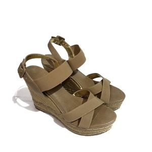 Charles by Charles David Wedge Sandals Size 8M